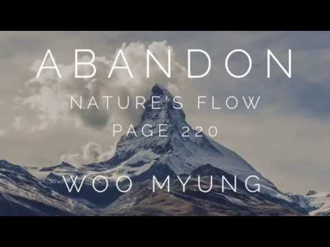 Writing of Woo Myung - Abandon