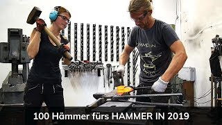 100 Hämmer für HAMMER IN 2019