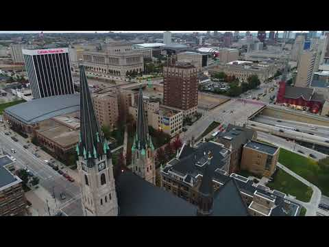 Drone footage highlights from the Journal Sentinel
