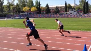 Atletismo juegos de velocidad