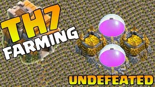 Clash Of Clans - BEST TH7 Town Hall 7 FARMING BASE | CoC TH7 Anti Everything