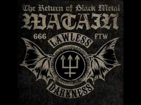 Watain - They Rode On  (LYRIC VIDEO)