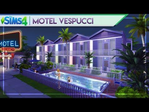 Repeat MOTEL VESPUCCI | The Sims 4 Motel Building (Community