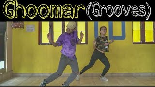 Gambar cover GHOOMAR GROOVES cover by SUMIT TONK-SAM(dancing buff)