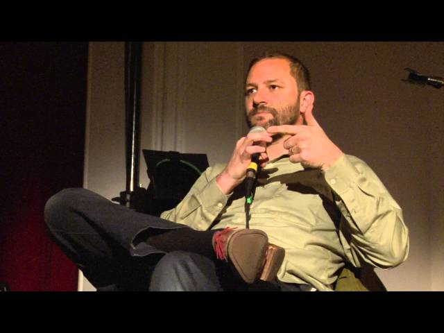 Tusk Festival 2015 —In conversation with  Aaron Dilloway