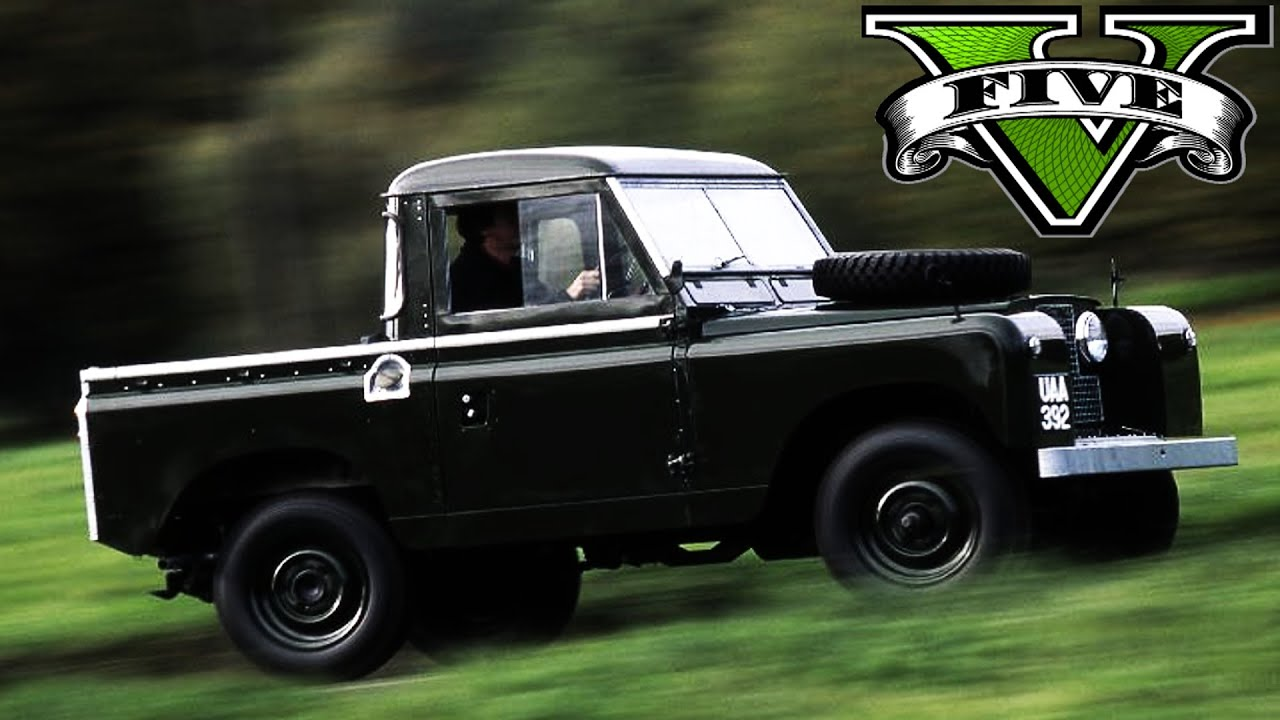 GTA 5 PC IV Map mod online 1960 Land Rover Series II Real Sound