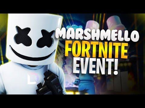 Marshmello Live at Pleasant Park! Fortnite Battle Royale Concert!