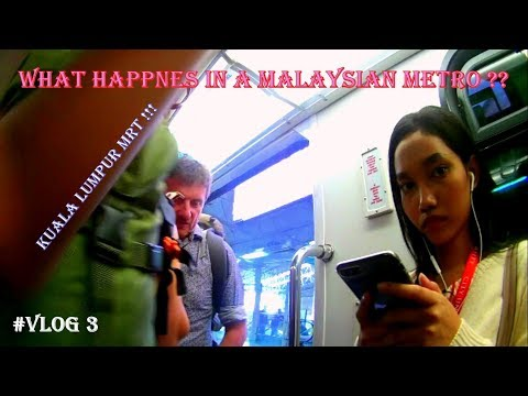 What Happens In Kuala Lumpur Metro || How To Get a MRT Ticket || Must Watch
