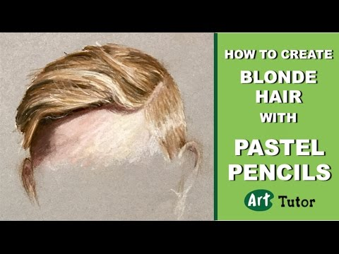 How to Create Blonde Hair with Pastel...