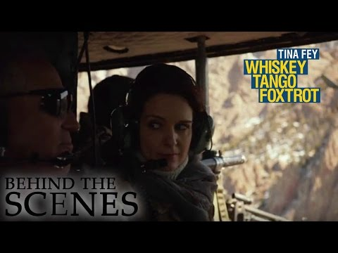 WHISKEY TANGO FOXTROT | Flying In A Helicopter | Official Behind The Scenes