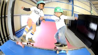Kids Are Awesome! Sky - Awesome Skateboarder!