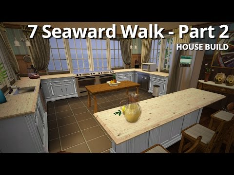 The Sims 3 House Building - 7 Seaward Walk (Part 2 / 2) - Aluna Island