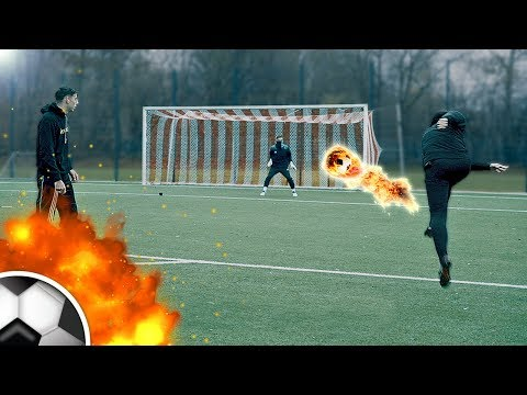 Loser Gives Away His Football Boots - Ultimate Football Challenge