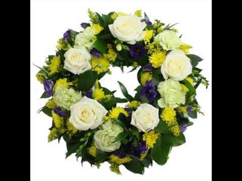 Funeral Wreath Funeral Flowers Arrangements Ideas Youtube