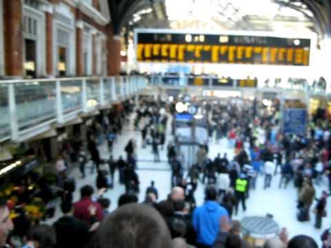 West Ham at Liverpool Street Station