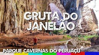 Parque Nacional Cavernas do Peruaçu: Gruta do Janelão - Minas Gerais