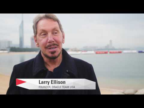 Indomitable Will: ORACLE TEAM USA Founder Larry Ellison on Skipper Jimmy Spithill