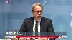 Corona LIVE: Innenministerkonferenz in Erfurt