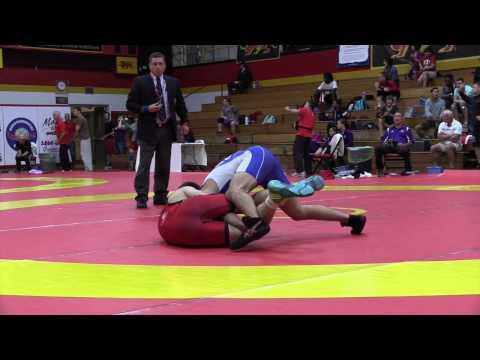2015 World Team Trials: 61 kg Dylan Bray vs. Adam MacFadyen