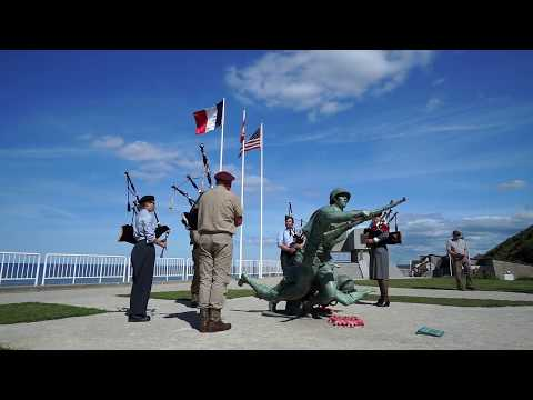 Omaha Camp Reenacted DDay 2017