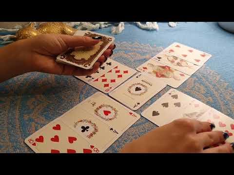 Гадание на 52 картах на короля карты таро гадание на разрыв