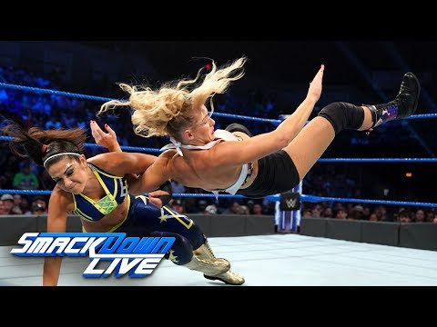 Bayley vs. Lacey Evans: SmackDown LIVE, Aug. 27, 2019