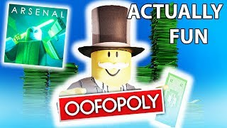 Arsenal Monopoly Edition | ROBLOX Gameplay