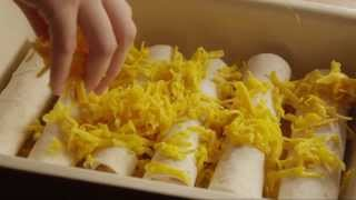Chicken Recipe - How To Make Chicken Enchiladas