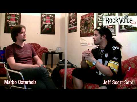 ROCKVOICE HQ - Interview with Jeff Scott Soto about Singing