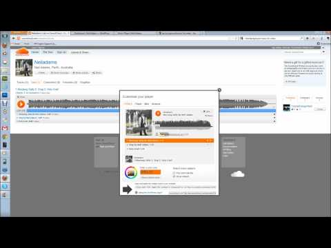 How to Embed A SoundCloud Music Player