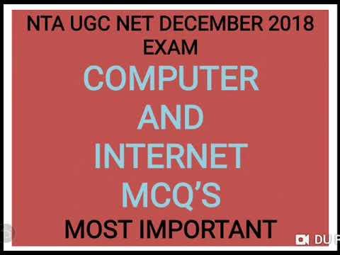 NTA UGC NET PAPER 1 DECEMBER 2018 ONLINE EXAM