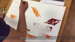Бесплатный урок - Как подготовить оригинальный подмалёвок перед написанием картины маслом