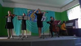 Скрипка трогает душу. Краматорск. Выпускной, школа искусств №2. 25. 05. 2017г.