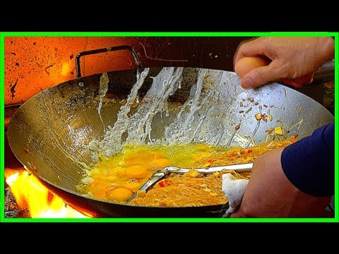 Amazing Street Foods Compilation - BEST Egg Noodle , Super Crispy Pancakes, Chilli basil