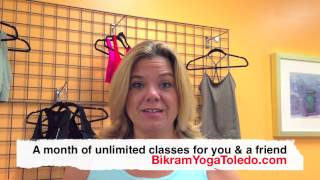 My Favorite Things Giveaway - Bikram Yoga Toledo - Girl in the Glass City