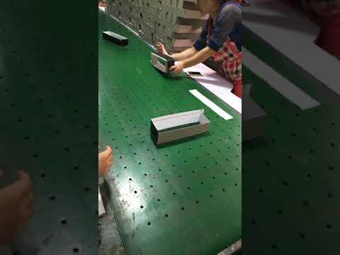 paper packaging box process from Shenzhen Hongcai Printing