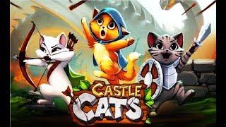 Замок котов  -  Игровой мультик для детей про котиков , веселое видио игра для малышей Castle Cats