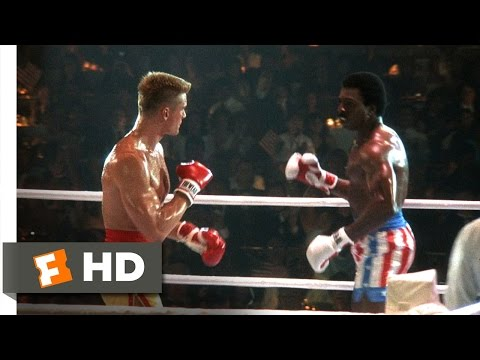 Rocky IV (3/12) Movie CLIP - Apollo's Bloody First Round (1985) HD