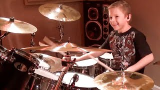 """Devil Went Down to Georgia"" Avery Molek, 8 year old Drummer"