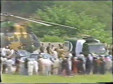 Shaheed Gen Zia ul Haq, Funeral (Part 1)