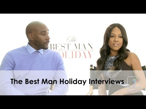 Thumbnail: Morris Chestnut and Monica Calhoun talk The Best Man Holiday