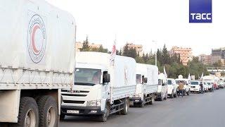 ООН приостановила отправку в Сирию всех гуманитарных конвоев