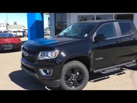 2016 midnight edition chevy colorado lt for sale in westlock stock 16t132 youtube. Black Bedroom Furniture Sets. Home Design Ideas