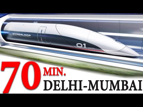 Proposed Hyperloop Between New Delhi And Mumbai | Mega Projects In India