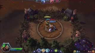 Heroes of the Storm....smooth like swiss cheese and jam.