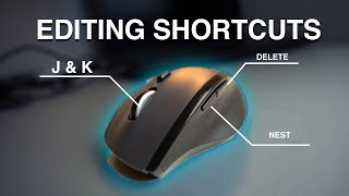 The Best VIDEO EDITING Shortcuts for your MOUSE