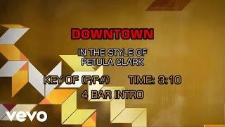 Petula Clark - Downtown (Karaoke)