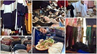 Турция 2020 Дешевый базар Чаршамба Что я купила по 1 лире Еда на базаре по 6 лир Часть 4