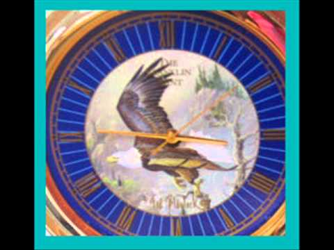A Franklin Mint pocket watch has the famous American eagle design and what it is worth
