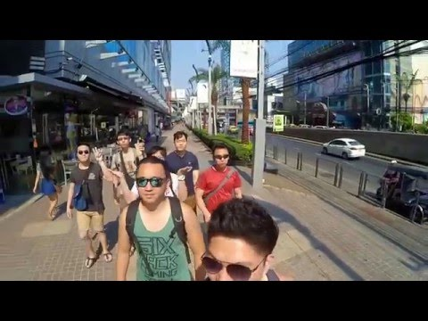 Bangkok Travel Video 2016 - Xiaoyi cam
